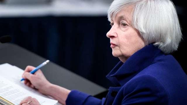 葉倫警告美10/18前達債務上限 恐危害美元地位 引爆金融危機 (圖片:AFP)