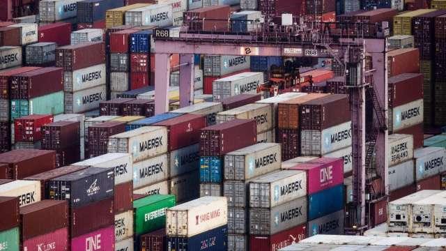 美8月商品貿易逆差擴大 恐拖累第三季GDP成長(圖片:AFP)