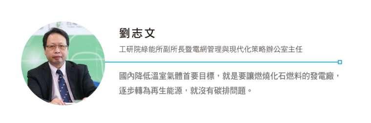 工研院綠能所副所長暨電網管理與現代化策略辦公室主任劉志文。