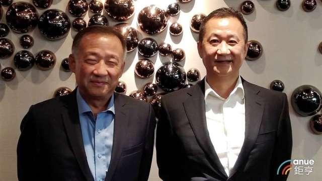 左起為兆利副董事長劉光華及董事長張台沅。(鉅亨網資料照)