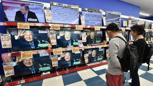 9月電視機用途LCD面板行情大跌3成 創最大跌幅 (圖片:AFP)