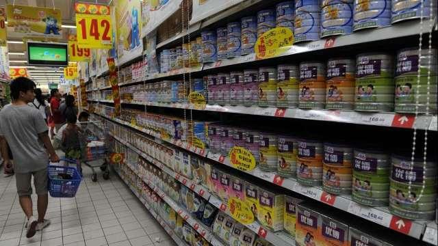 不只能源、食品漲 脫脂奶粉期貨價格飆至7年新高(圖:AFP)