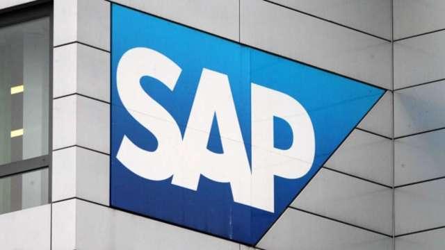 看旺雲端需求 SAP第三度調高全年財測 (圖:AFP)