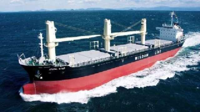 〈商品報價〉海岬型運價回落 BDI連三跌、鐵礦砂下挫逾6%。(圖:慧洋提供)
