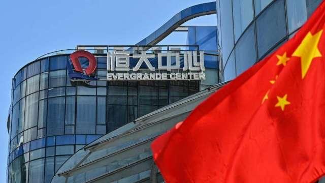 渣打CEO:中國沒有傻到放任恒大危機演變成雷曼時刻(圖:AFP)