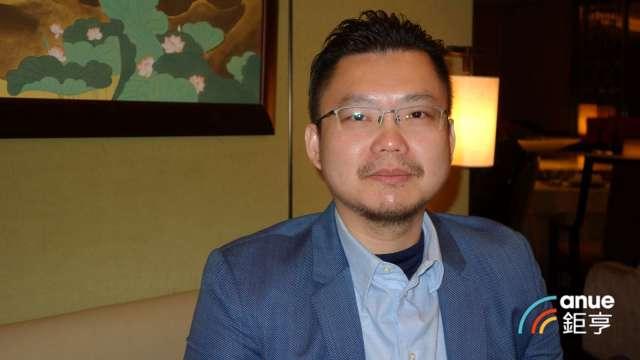 穎漢總經理胡峻嘉。(鉅亨網記者張欽發攝)