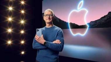 晶片荒波及蘋果減產iPhone13 但這不是庫克最擔憂的問題 (圖片:AFP)