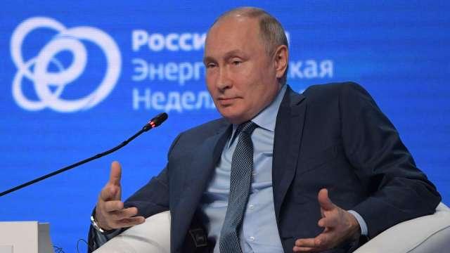 普丁否認俄羅斯以能源對付歐洲 稱美國加劇短缺問題(圖片:AFP)