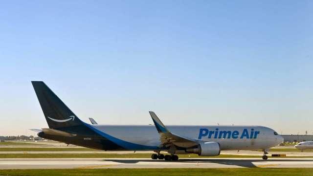亞馬遜傳正採購二手長程貨機 把產品從中國運到全世界 (圖:AFP)
