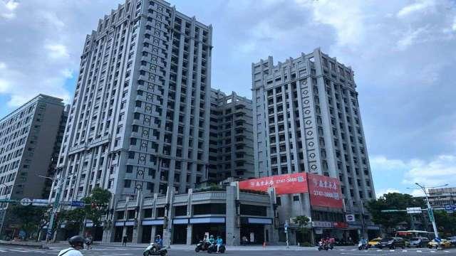 台北永春都更案熬20年完工落成,實價登錄最高每坪達138萬元。(圖:業者提供)