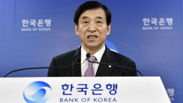 南韓央行:11月有升息可能 且難度不高 (圖片:AFP)