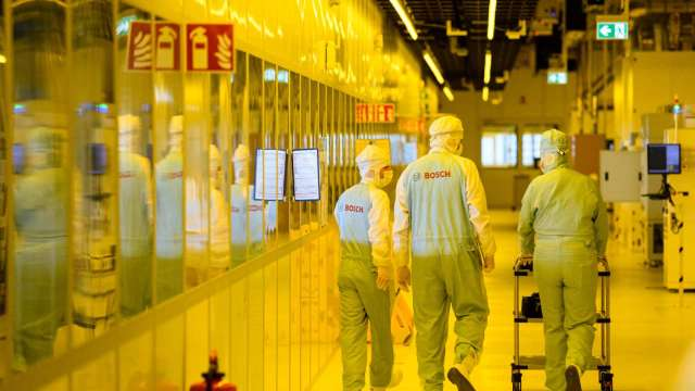 台積電赴日設廠 設備廠全體激昂 帆宣、華景電噴漲停。(圖:AFP)
