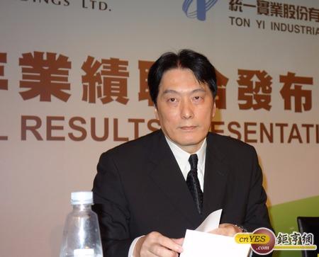 統一企業董事長羅智先指出,統一要擴大在東南亞市場布局,將與兩岸鼎足而三。(鉅亨網記者張欽發攝)