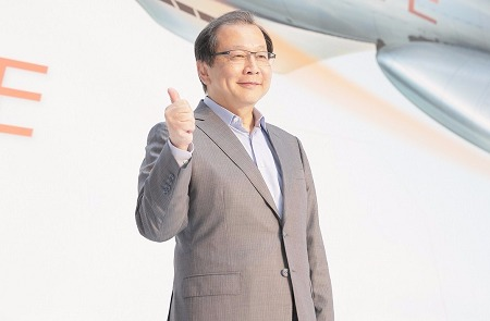 中華電董事長蔡力行領軍衝刺能源事業。(資料照,圖:中華電提供)